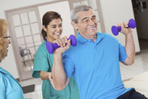 Rehabilitation & Therapy at Cimarron Place Health & Rehabilitation Center nursing home in Corpus Christi, TX.